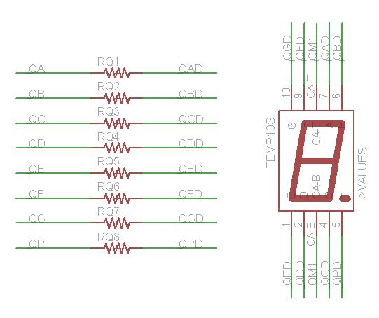 7-Segment Resistors